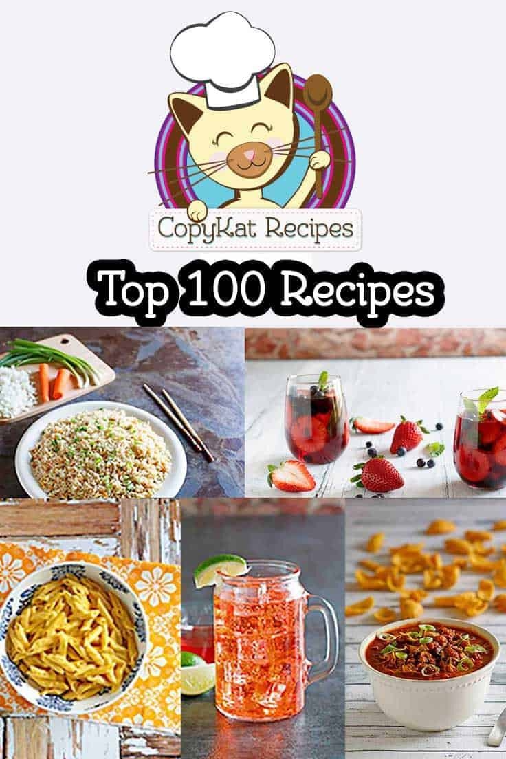 100 Favorite Copycat Recipes Restaurant Recipes