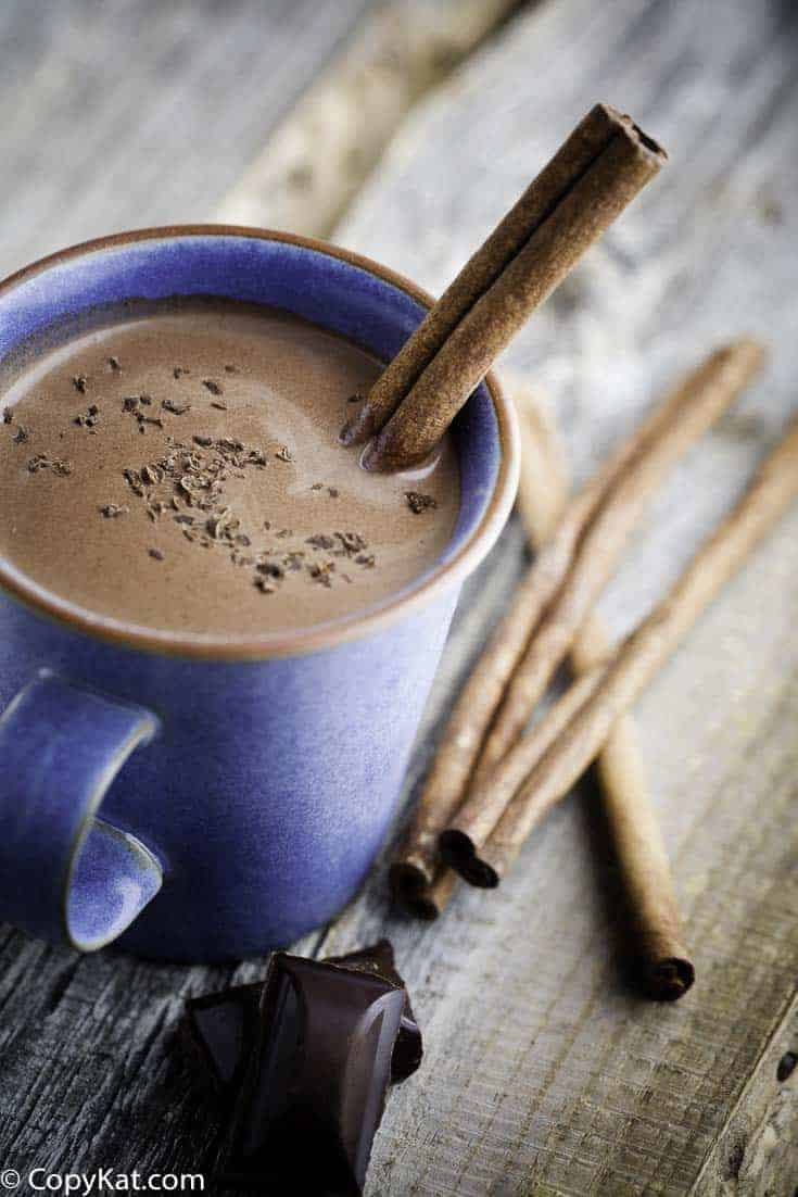 Make a delicious cup of of cocoa made from a homemade mix.   #cocoa #hotchocolate #cocoamix