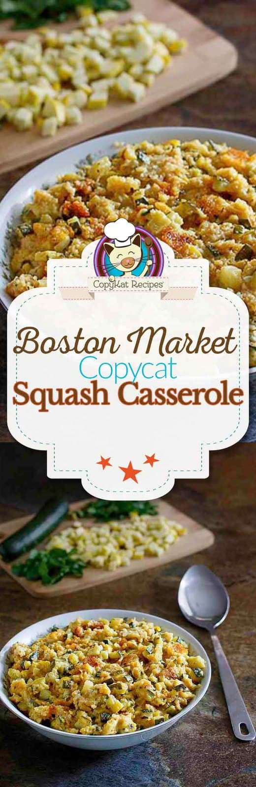 You can recreate the Boston Market Squash Casserole at home with this easy copycat recipe.