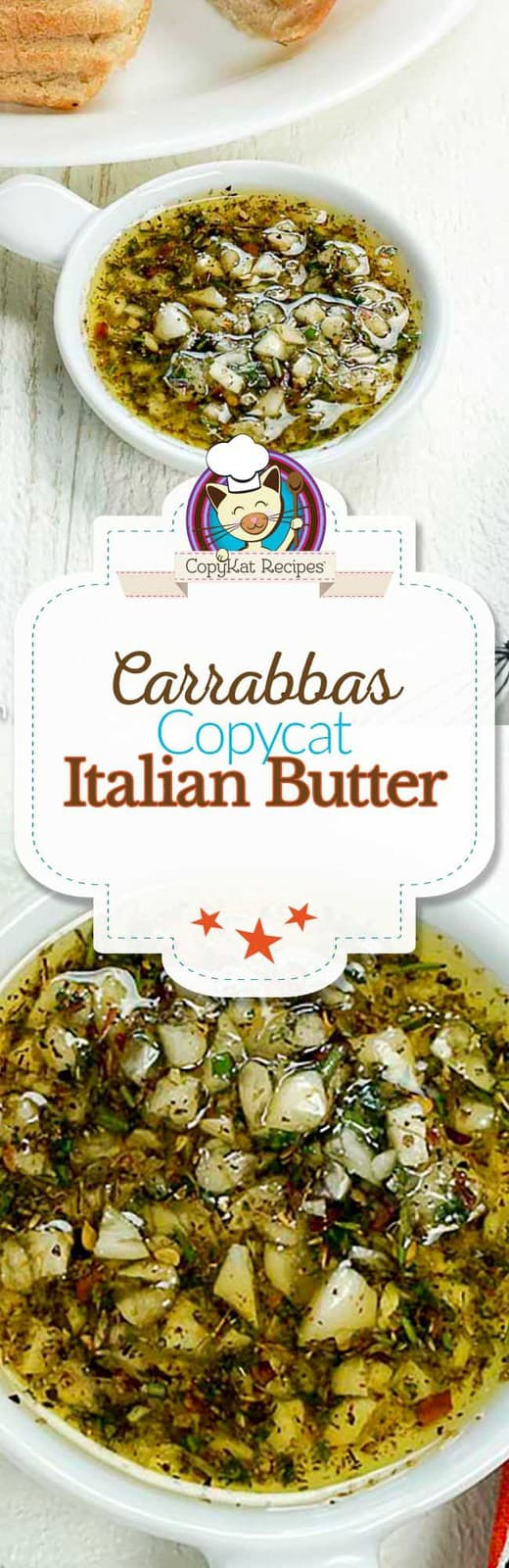 Recreate this Carrabbas Italian Butter in a matter of minutes with this easy copycat recipe.