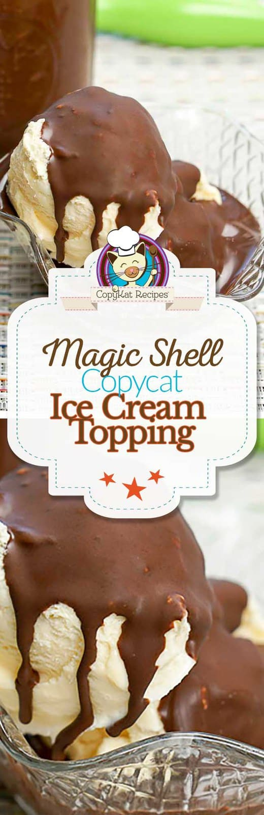 Recreate your own copycat recipe for Magic Shell Ice Cream Topping.