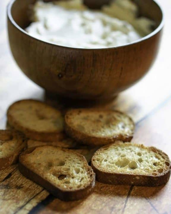 Mozzarella's bread spread is a combination of cream cheese, butter, and herbs that makes up the perfect spread crackers, and bread.
