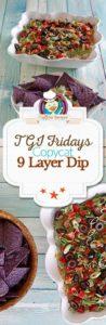 Nine Layer Dip photo collage