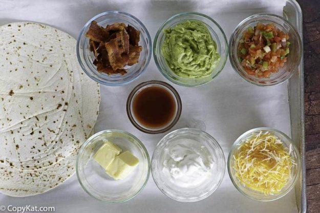 Applebee's quesadilla recipe ingredients