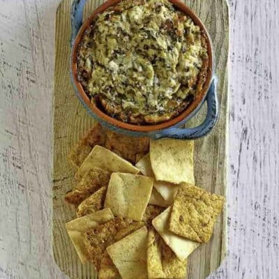 Make easy spinach artichoke dip with a few simple ingredients you already have in your pantry.