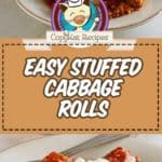 homemade old world stuffed cabbage rolls