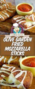 copycat fried mozzarella sticks like the olive garden