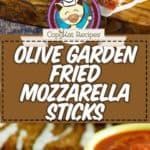 copycat fried mozzarella sticks like the olive garden