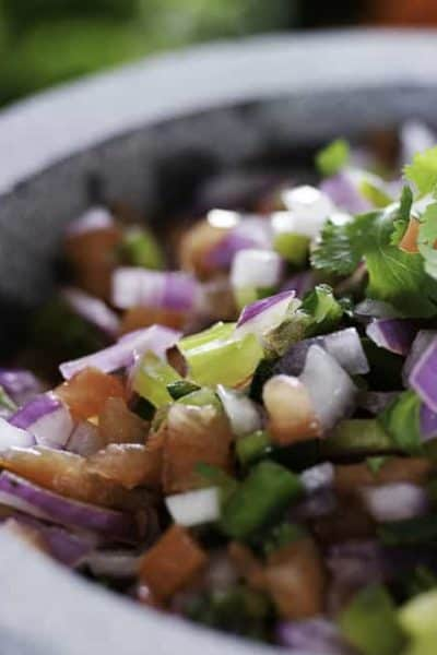Homemade Pico de Gallo that tastes just like Applebee's is so easy to make.