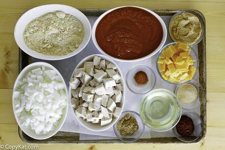 Chicken Enchilada soup ingredients