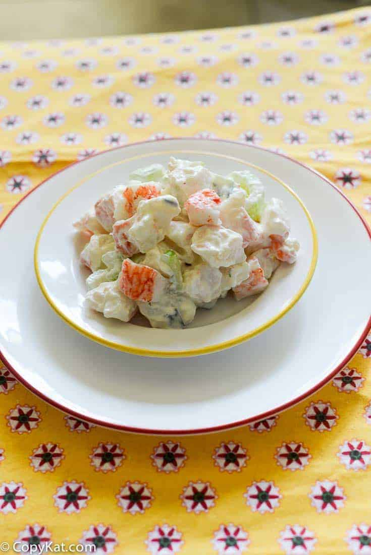 Albertson's Krab salad is a wonderful Crab salad recipe