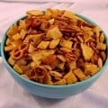 Chex Party Mix – it is easy to make.