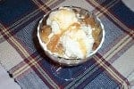 Houston's Walnut Apple Cobbler