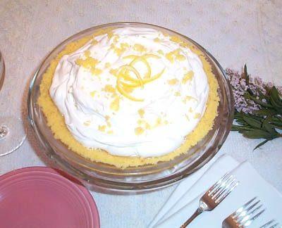 Restaurant Style Lemon Cream Cheese Pie