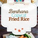 Homemade Benihana Fried Rice photo collage