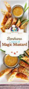 Benihana Magic Mustard Sauce photo collage