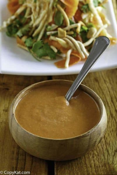 Recreate Benihana Ginger Salad Dressing at home with this easy copycat recipe. #saladdressing #ginger #salad #copycat
