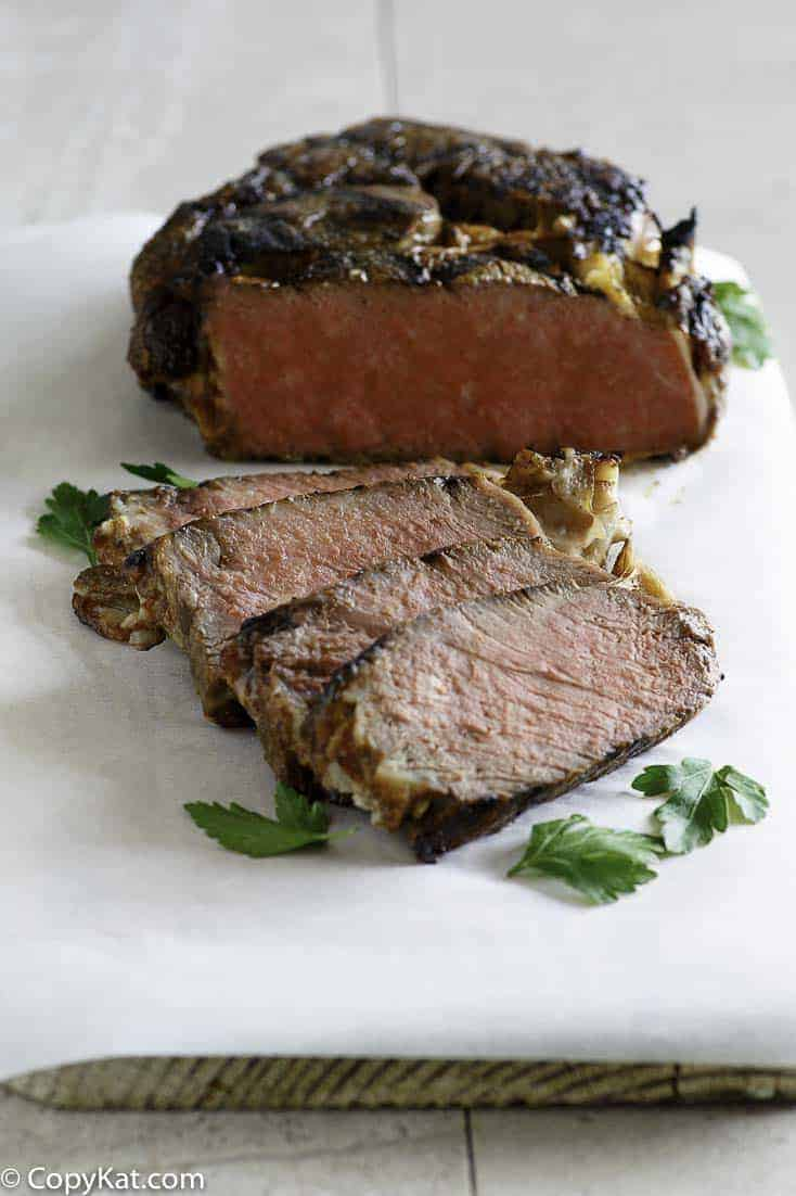 Recreate the Applebee's Bourbon Street Steak at home with this easy copycat recipe.