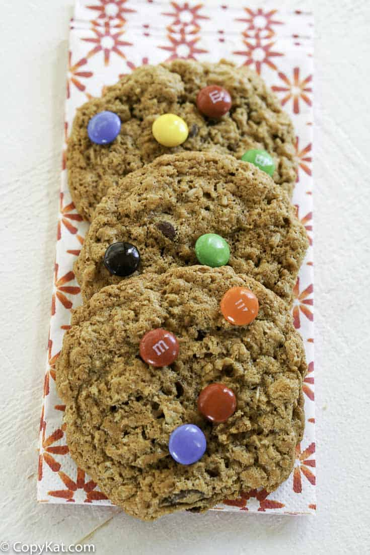 You are going to love these gluten free monster cookies.