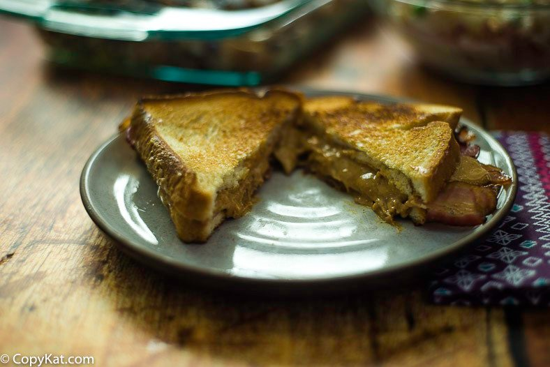 Try this peanut butter and bacon sandwich for breakfast!
