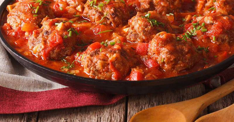 Albondigas are the perfect meatball appetizer to serve when you want to serve Tappas.