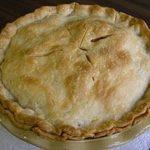 sugarless apple pie