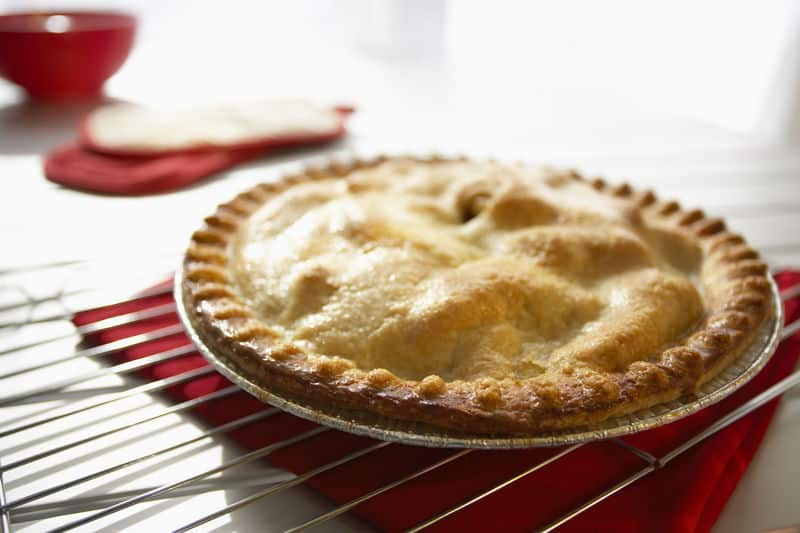 a freshly baked Fruit of the Forest Pie