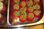 Cherry Tomatoes Stuffed with Spanish Olive Tapenade