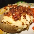 Ralph & Kakoo's Twice-Baked Potatoes – you can make these ahead of time and serve later.