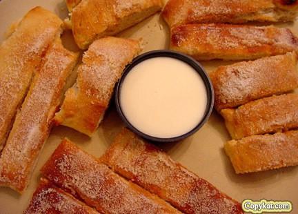 Domino's Cinnastix is one of Domino's Desserts