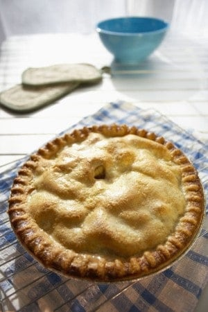 Spago's Old Fashioned Apple Pie