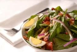 hot bacon salad dressing