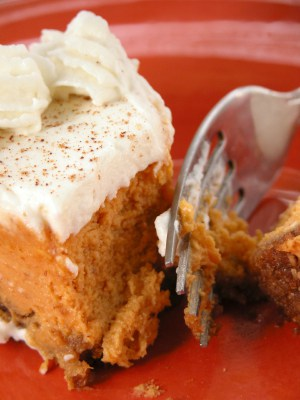 California Pizza Kitchen Pumpkin Cheesecake