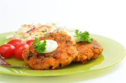 quick and easy salmon patty