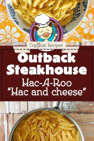 Outback Steakhouse Macaroni and Cheese copycat recipe