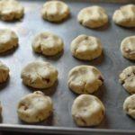 Keebler Almond Cookies in pan