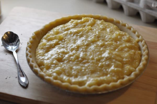 luby's hawaiian pie poured