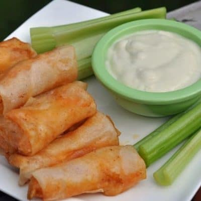 Grand Lux Cafe Buffalo Spring Rolls recipe