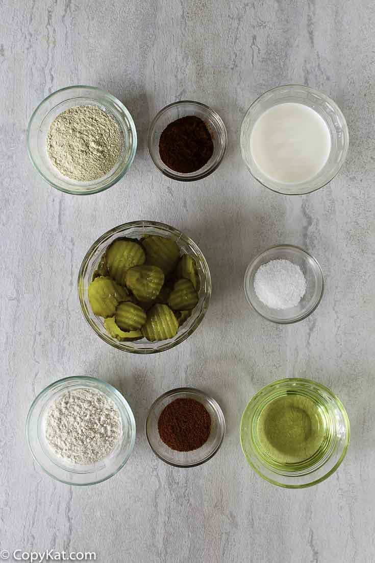 fried pickles ingredients