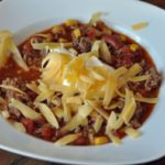 bowl of taco soup