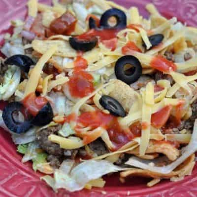Mock Taco Salad Recipe