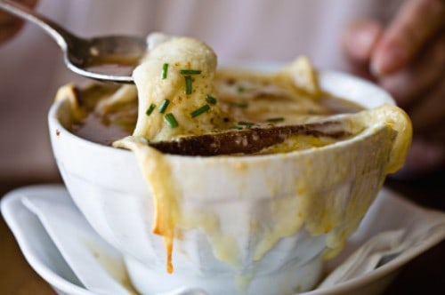 Brennans french onion soup