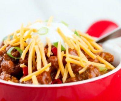 bowl of indiana chili