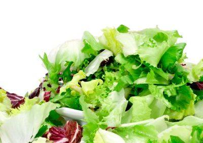 mix of salad greens