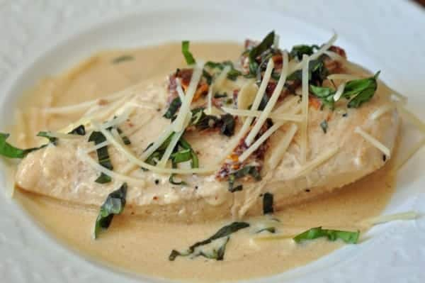 braised chicken breast