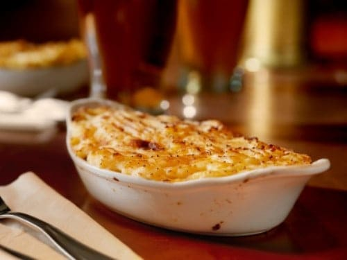 dish of shepherds pie