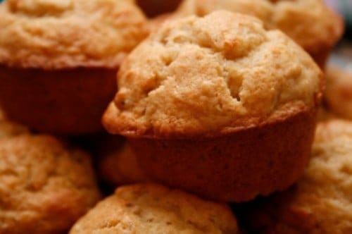several sweet muffins