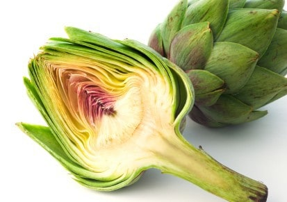 sliced artichoke