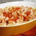 dish of shrimp scampi
