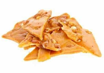 peanut brittle that is quick and easy to make